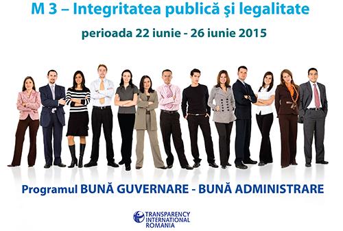 Modulul III - Integritate publică şi legalitate