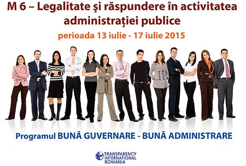 Modulul VI - Legalitate şi răspundere în activitatea administrației publice